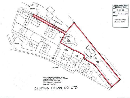 Land at rear Elgin Close, Fareham, PO15 6UB