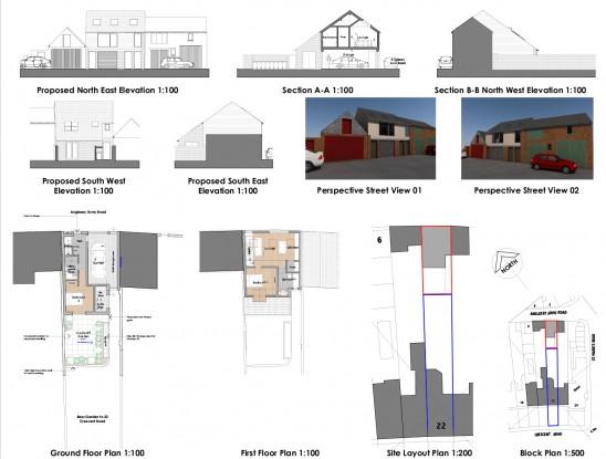 Building Plot To Rear Of Crescent Road, Alverstoke