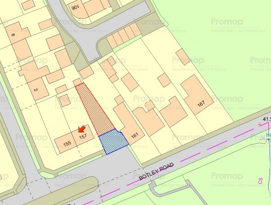 Building Plot – Land to the Side of 157, Botley Road, Southampton