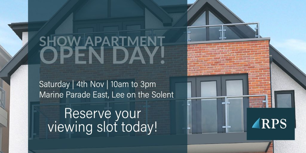 Open Day Poster Marine Parade East