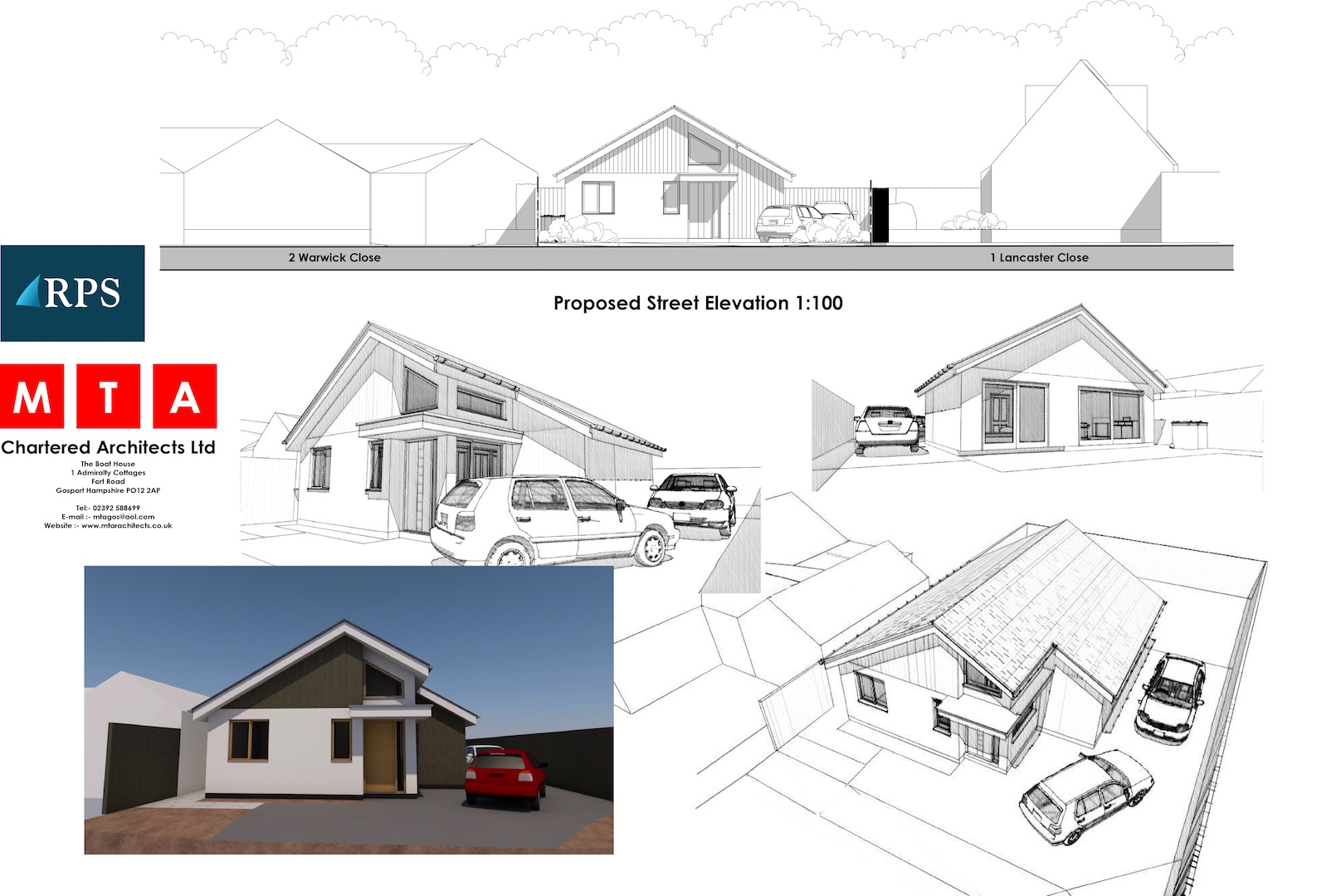 Building Plot – WITH PLANNING – Warwick Close, Lee on the Solent